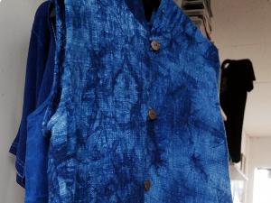 藍染 シャツ