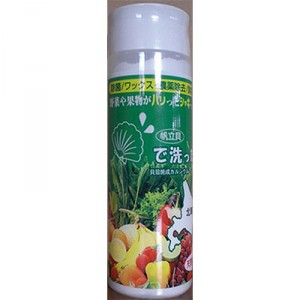ナチュラルジャパン株式会社-ホタテで洗った-100g-(ホタテ貝殻水酸化カルシウム)