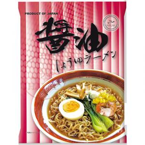 日本プレステージ-国産ハラールノンフライ麺(醤油味)80g