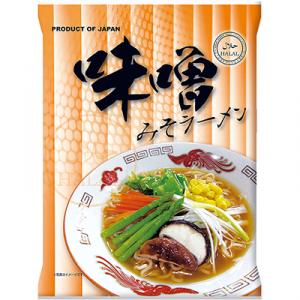 日本プレステージ-国産ハラールノンフライ麺(味噌)80g