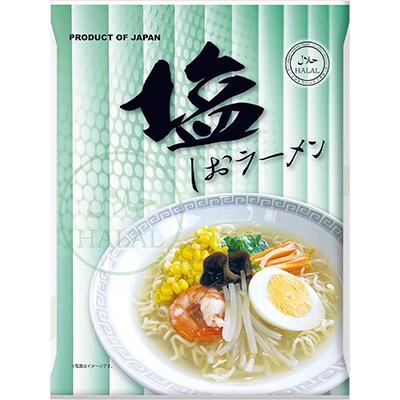 日本プレステージ-国産ハラールノンフライ麺(塩味)80g