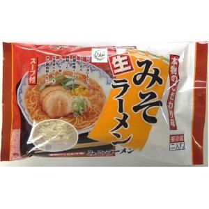 桃太郎食品-味噌ラーメン2食スープ付